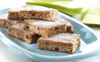Spicy Beet, Fruit & Nut Bars