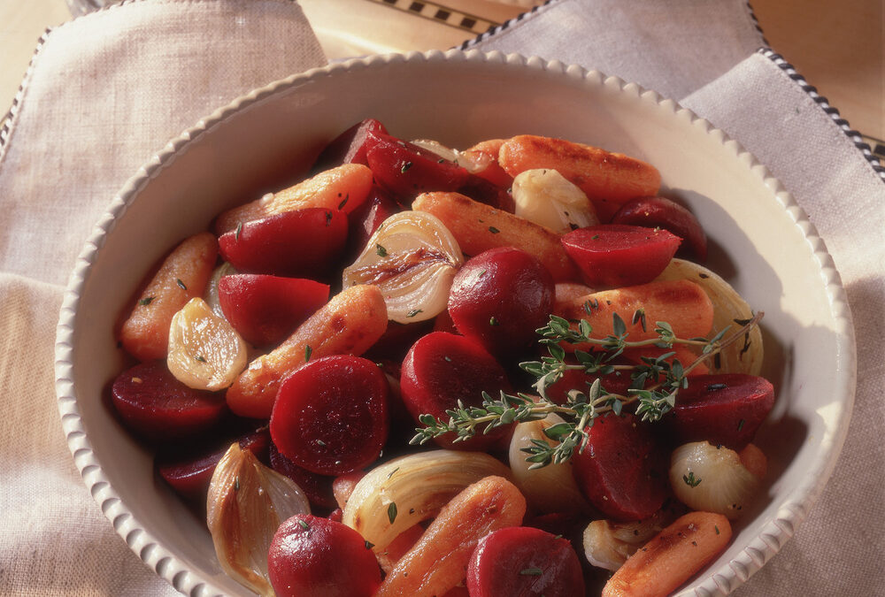 Thyme-Scented Roasted Vegetable & Beets