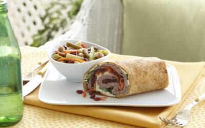 Beef, Beet & Horseradish Wraps