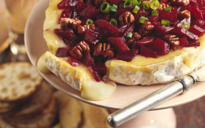 Beets & Brie Appetizer