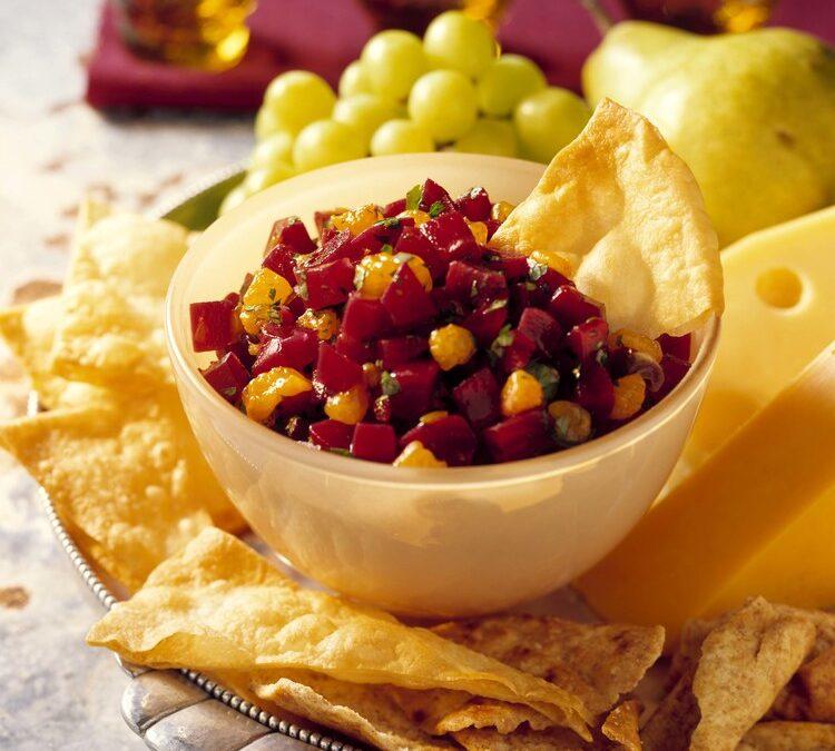 Festive Beet & Citrus Salsa