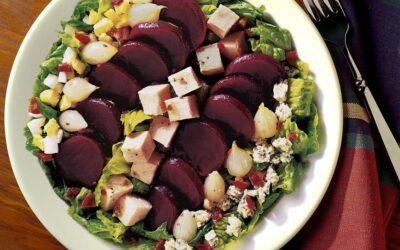 Pickled Beet Cobb Salad Supreme