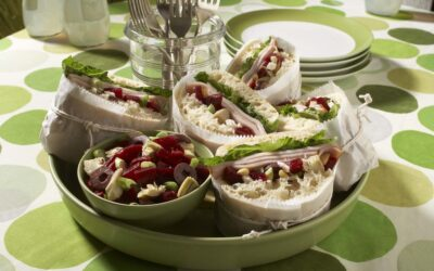 Picnic-wiches with Greek Artichoke Beet Salad