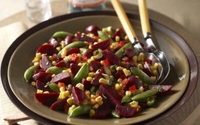 Beet & Corn Salad