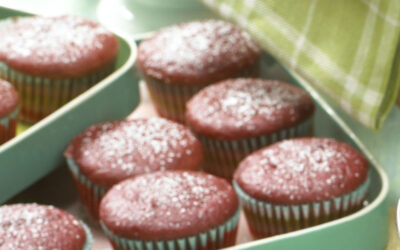 Spicy Beet Cupcakes