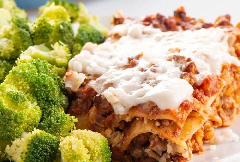 Colorful Beet Vegetable Lasagna